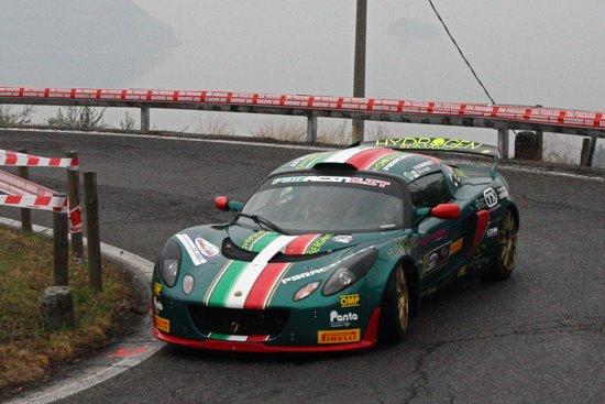Stefano D'Aste - Lotus Exige - Rally Ronde del Sebino 2012