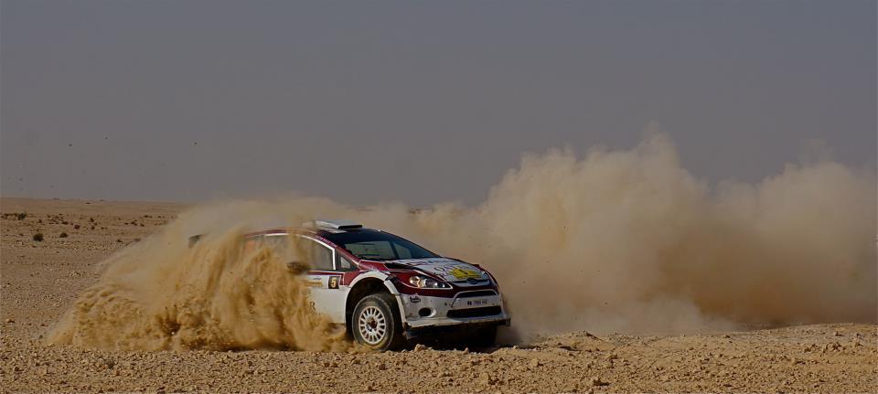 Al Rally del Qatar con Al Suwaidi
