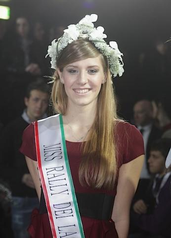 Alexia Cunico Miss Rally dei Laghi