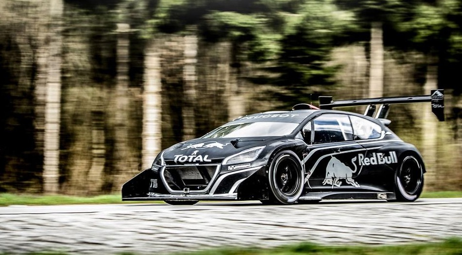 pikes peak una peugeot 208 t16 da 875 cavalli per sebastien loeb. Black Bedroom Furniture Sets. Home Design Ideas