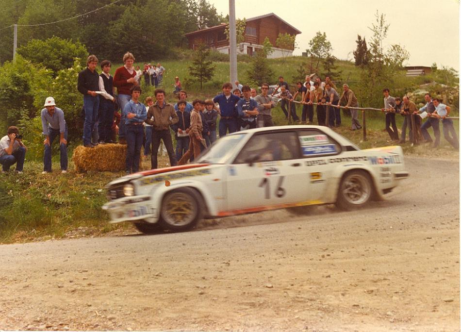Opel Ascona 400 - 4 Regioni 1982
