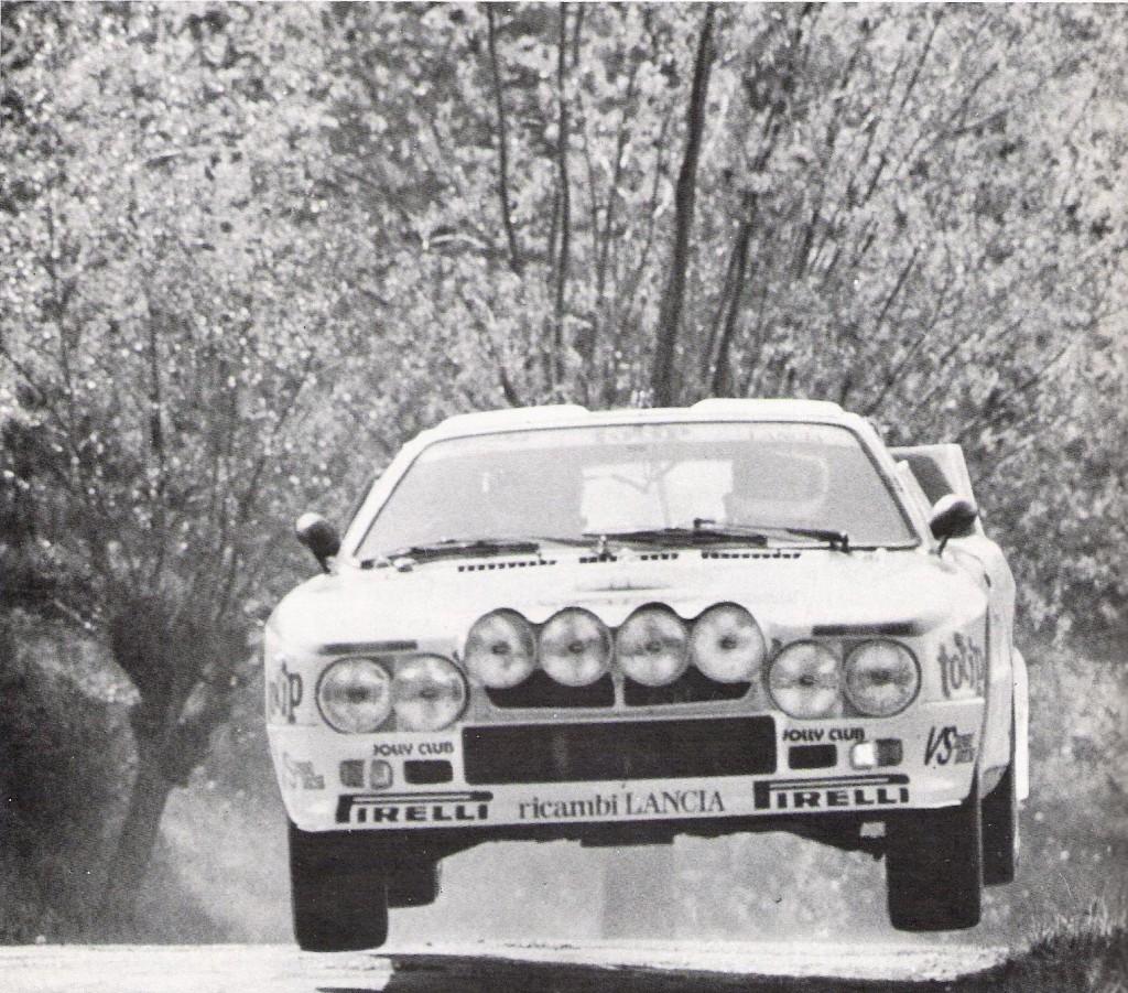 Lancia 037 al vittorioso 4 Regioni 1983