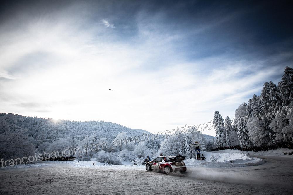 AUTO - WRC RALLYE MONTE CARLO 2013