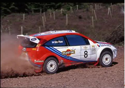 McRae-Sanfront a bordo della Focus WRC