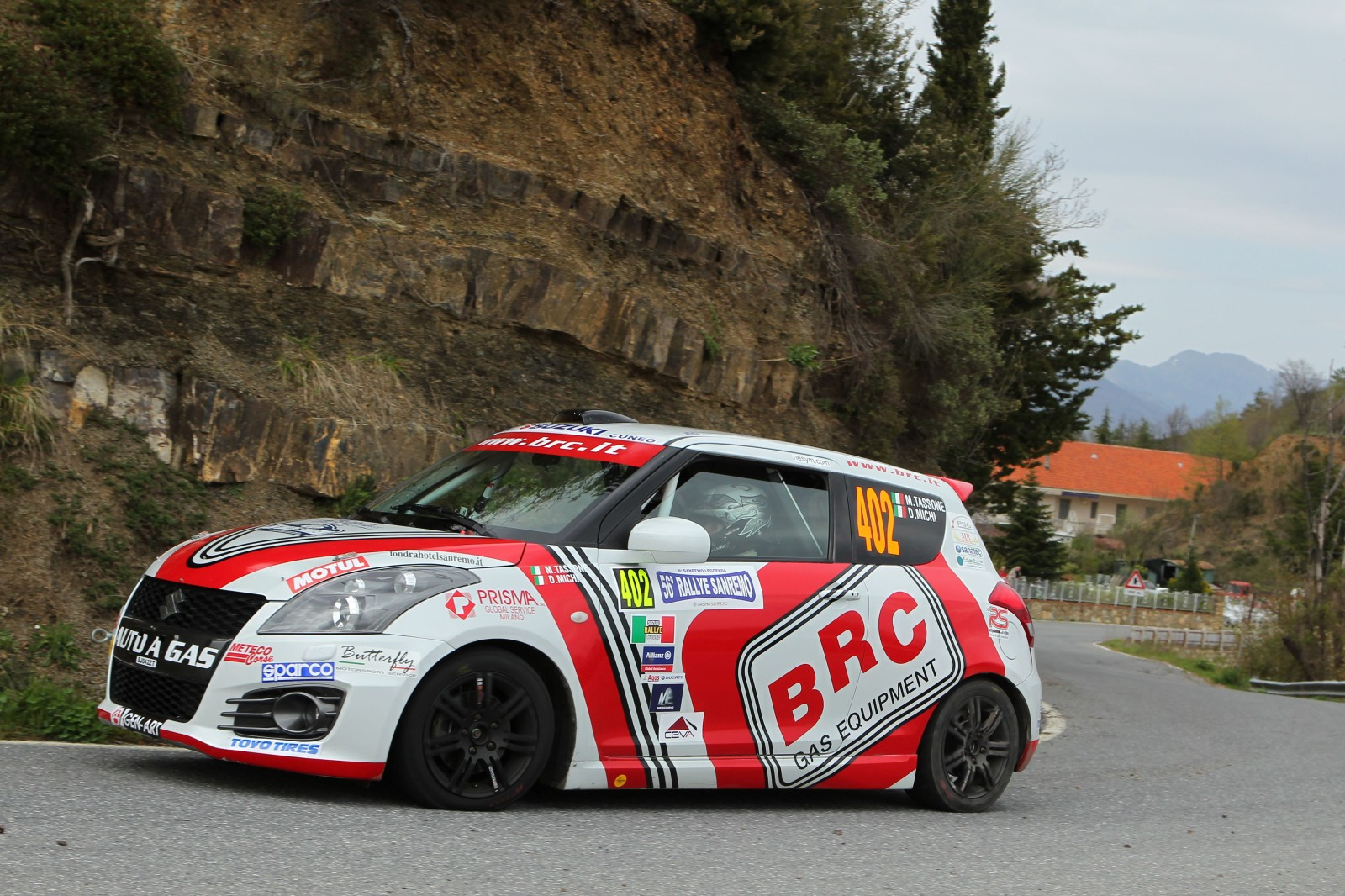 Michele Tassone, Danile Michi (Suzuki Swifr R1 #402, Brc Racing Team)