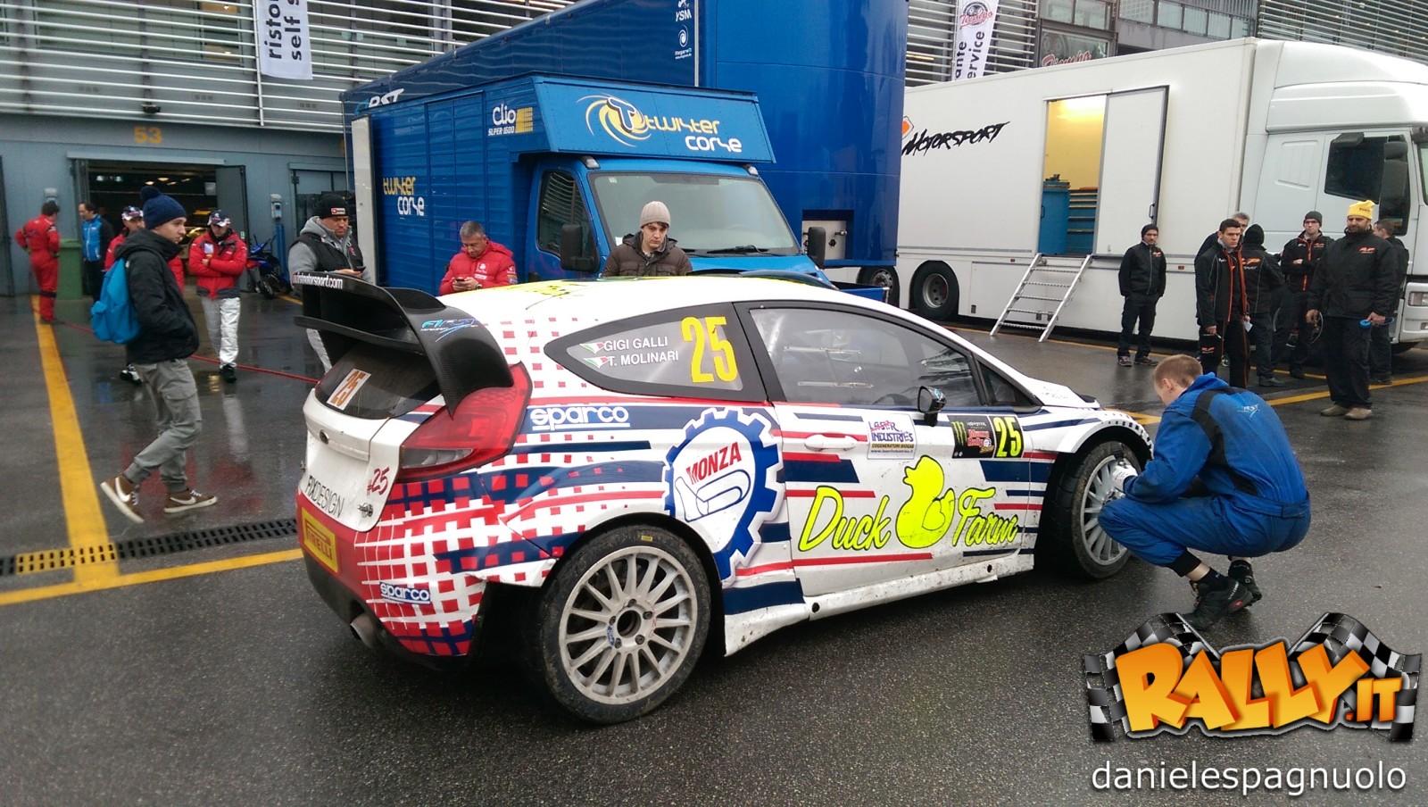Gigi Galli Monza Rally 2014