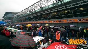 Pit lane partenza Monza 2014