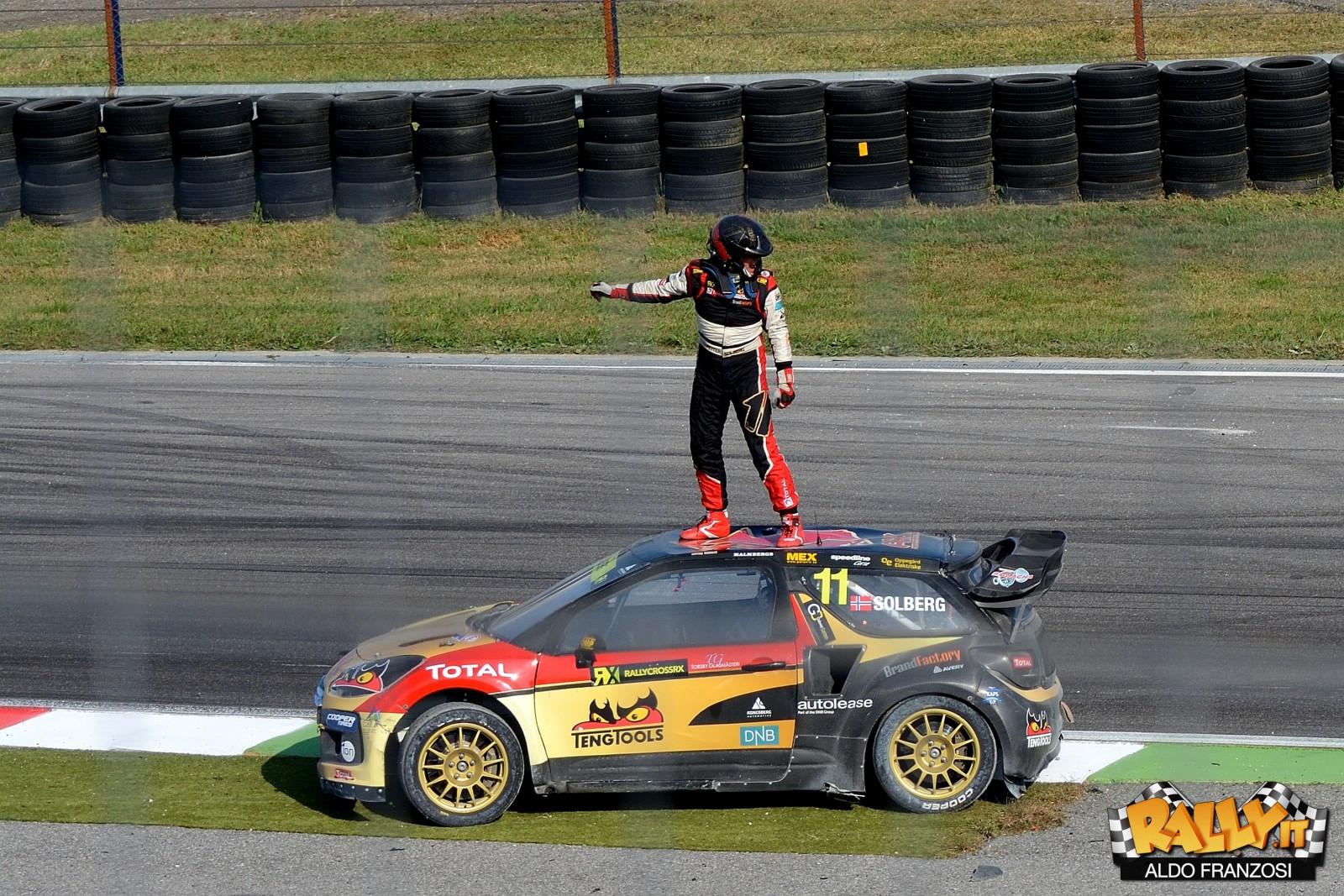 Petter Solberg, campione WRC 2003 e RX 2014-2015