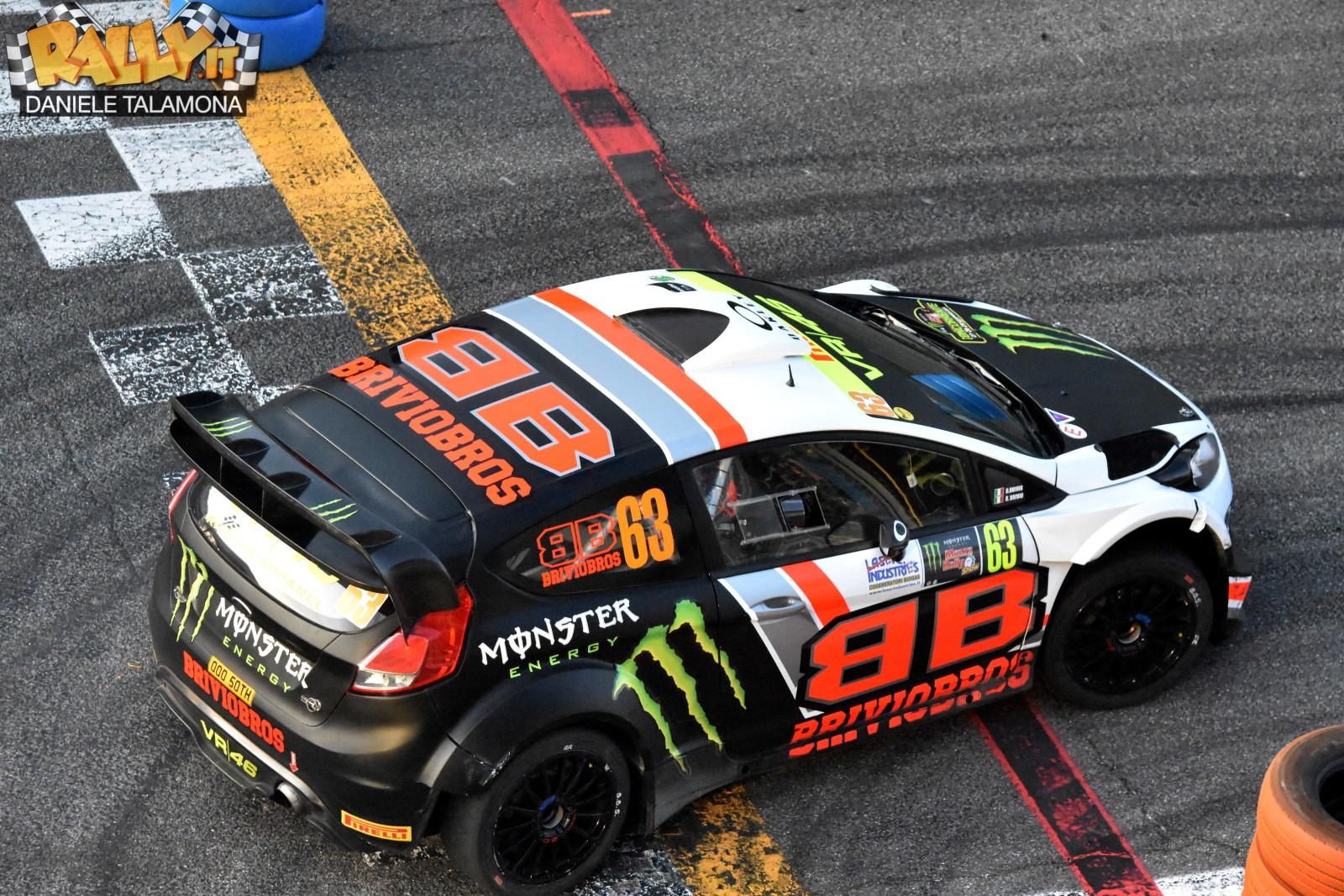Tanti i piloti presenti al Monster Energy Monza Rally Show