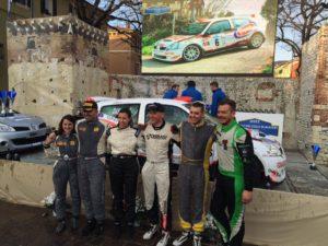 Il podio, tre equipaggi in soli 2,5 secondi! - Ph. Matteo Peloso