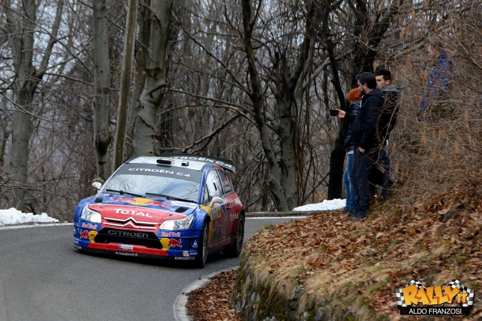 "Luca Pedersoli, sulla bellissima C4 WRC ""Red-Bull"""