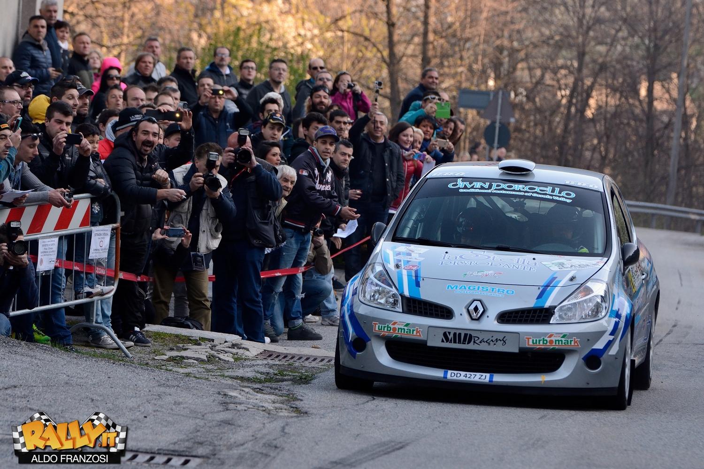 Davide Caffoni e Massimo Minazzi, in azione sulla Montecrestese