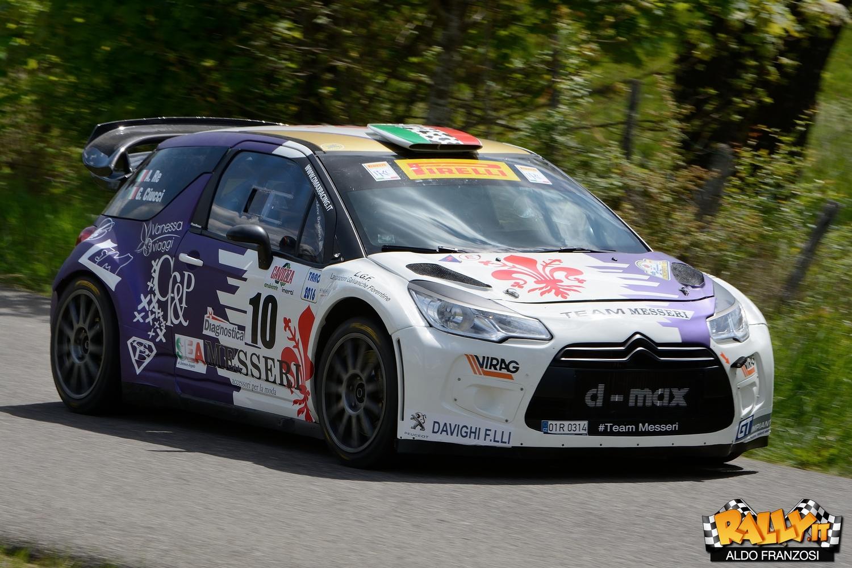 Alessandro Re e Giacomo Ciucci, protagonisti di questo Rally del Taro