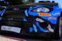 La Ford Fiesta WRC con cui David Salanon si è imposto al Rallye Antibes Cote d'Azur 2016