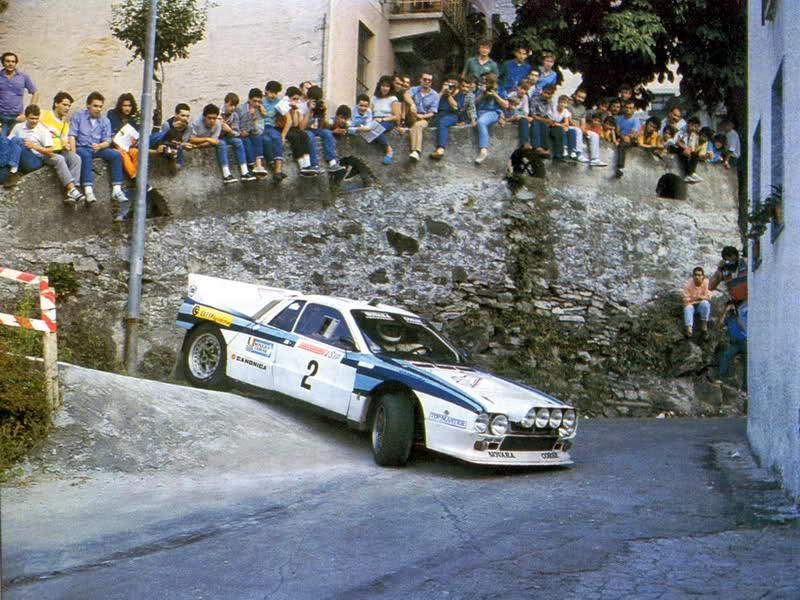 """Franco Uzzeni in azione nel 1985 alla mitica """"Inversione"""" di Montecrestese"""