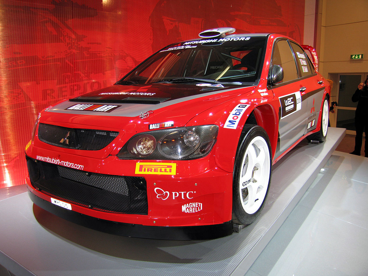 Mitsubishi Lancer Evolution IX WRC2006