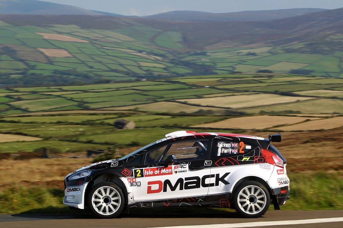 Evans e Perry su Ford Fiesta R5 Dmack