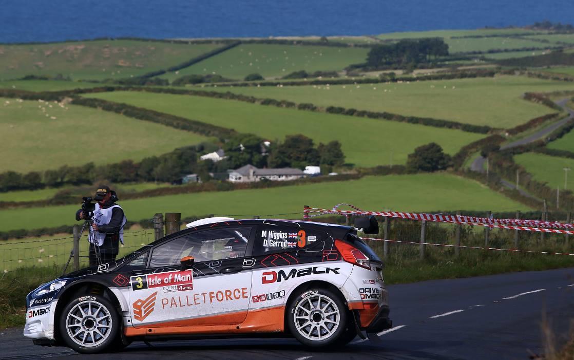 Mark Higgins - Garrod su Ford Fiesta R5 Dmack