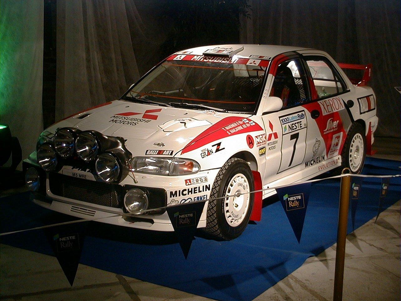 La Evo III da rally ufficiale del 1996