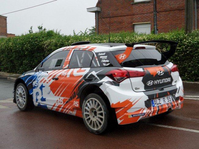 Stephane Sarrazin i20 R5 WRC