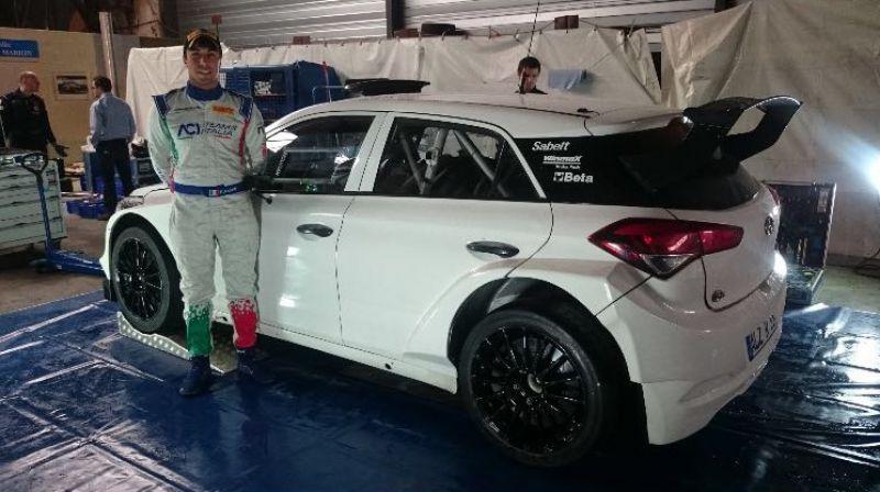 Fabio Andolfi i20 R5 WRC