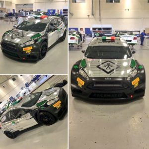 Lorenzo Bertelli Ford Fiesta WRC