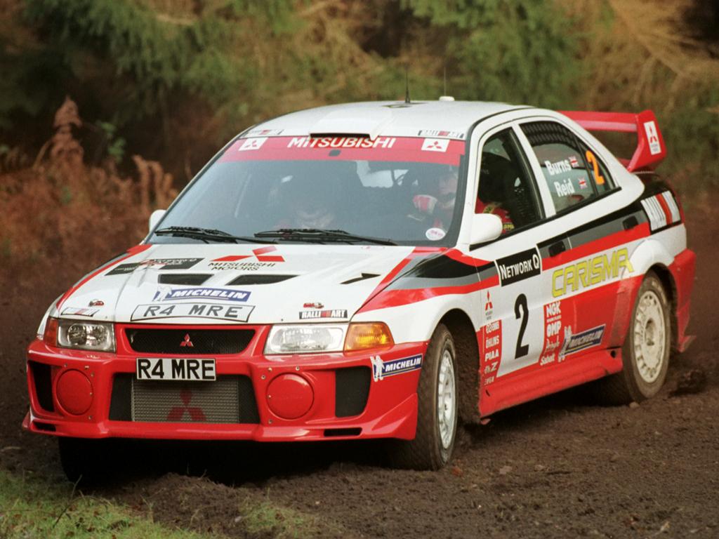 Mitsubishi Carisma GT Evolution V Gr.A WRC '1998