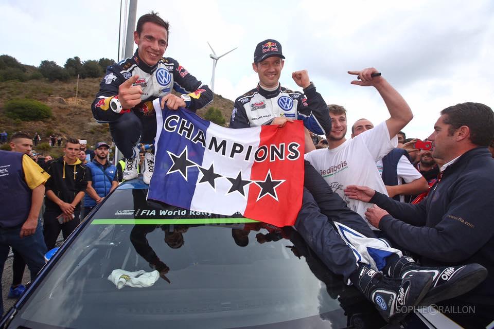 Ogier - Ingrassi. Quarto titolo WRC