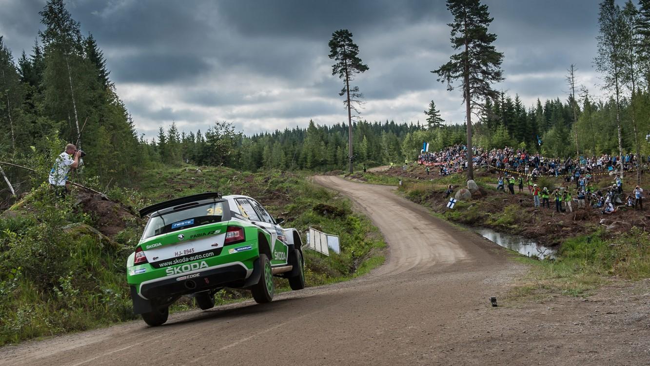 Esapekka LAppi al Rally di Finlandia del 2016