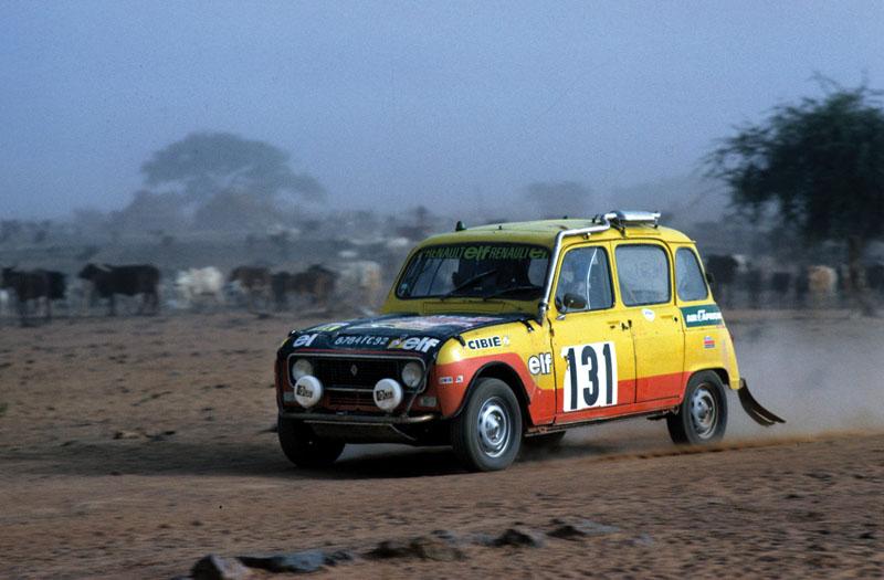Renault 4, Paris-Dakar 1979