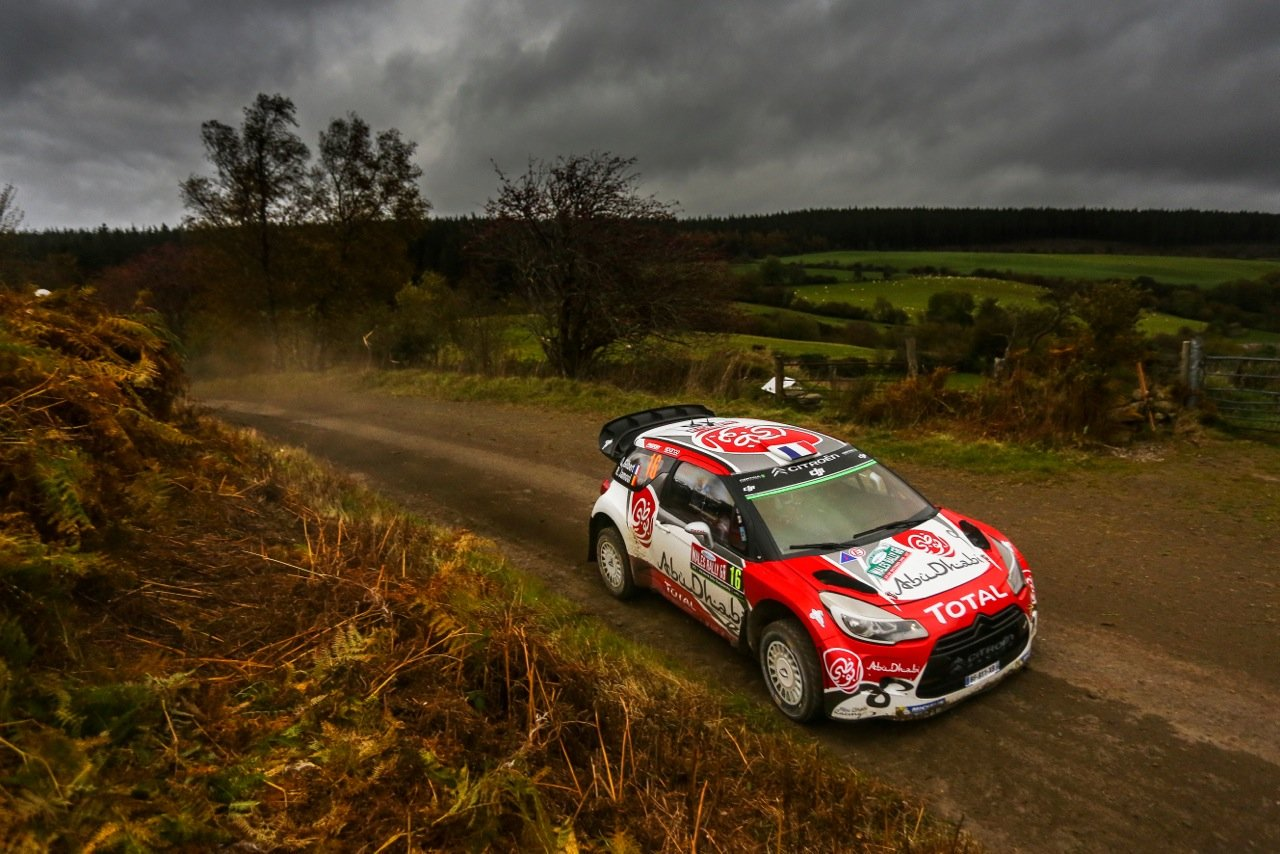 Gilberg Quentin - DS3 WRC
