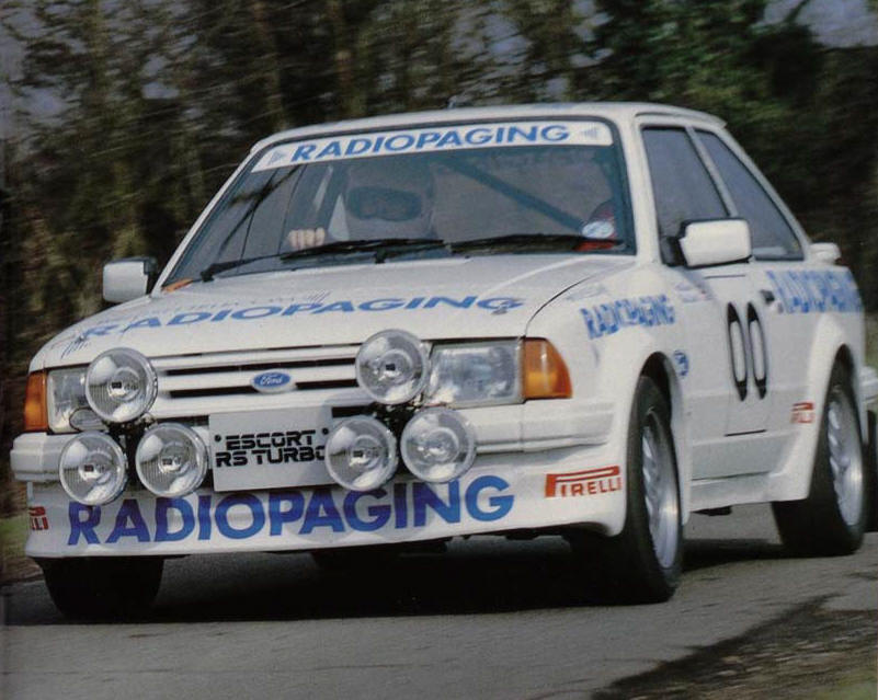 MK3 Escort RS Turbo