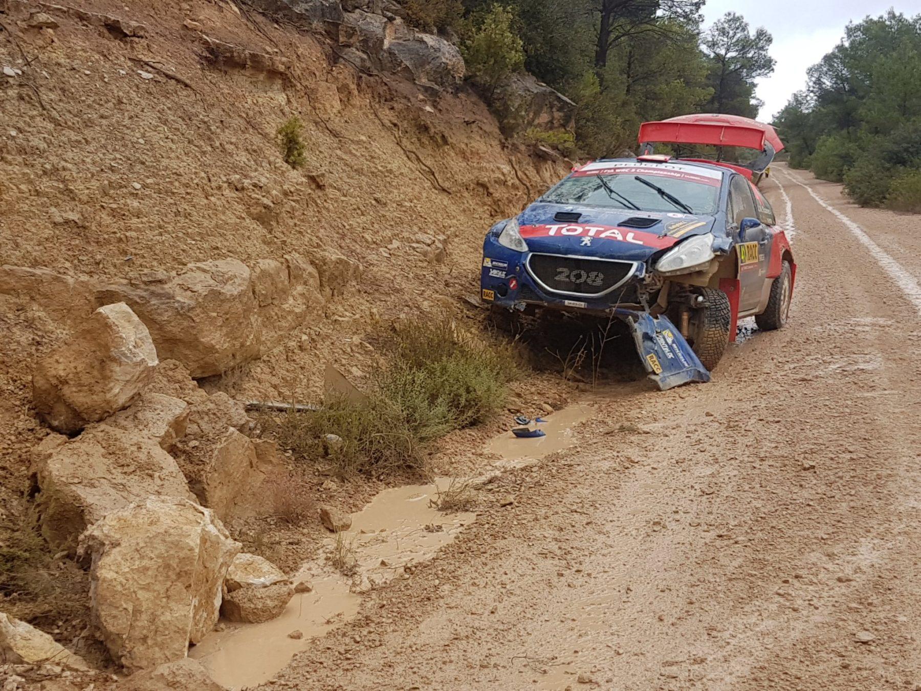 WRC2 Jose Cohete Suarez. Foto di Marko Salminen