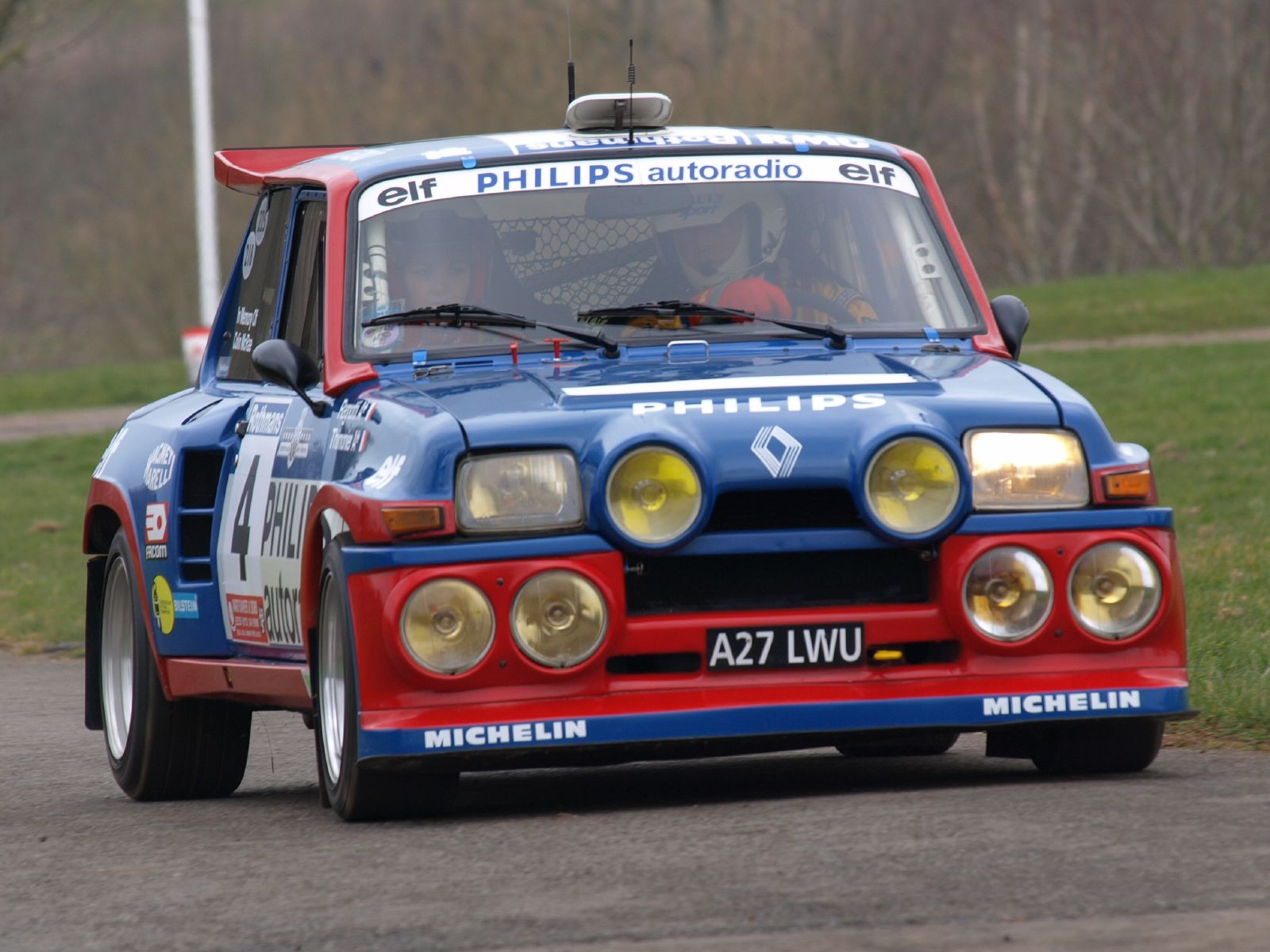 Renault 5 Turbo Maxi.
