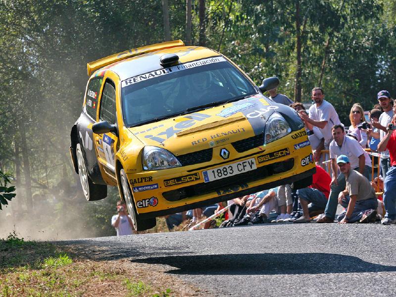 Renault Clio S1600.