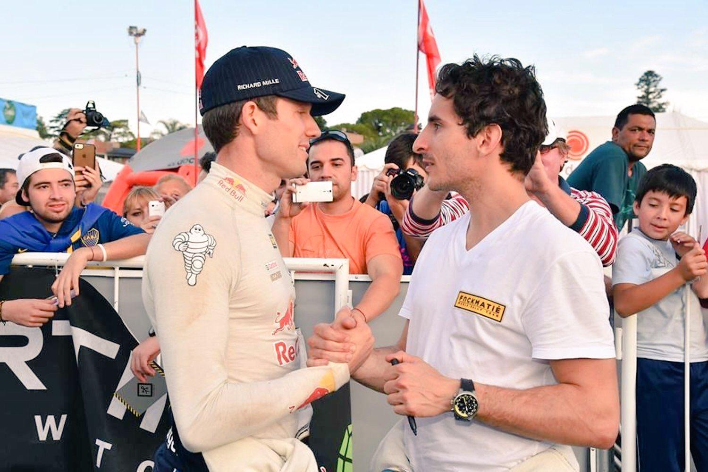 Sebastien Ogier e Lorenzo Bertelli