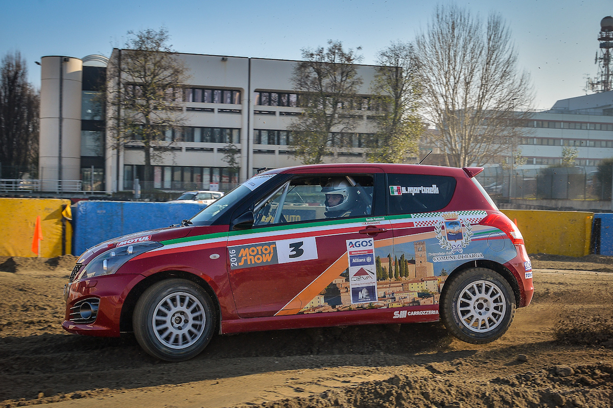 Martinelli, Suzuki Swift R1B