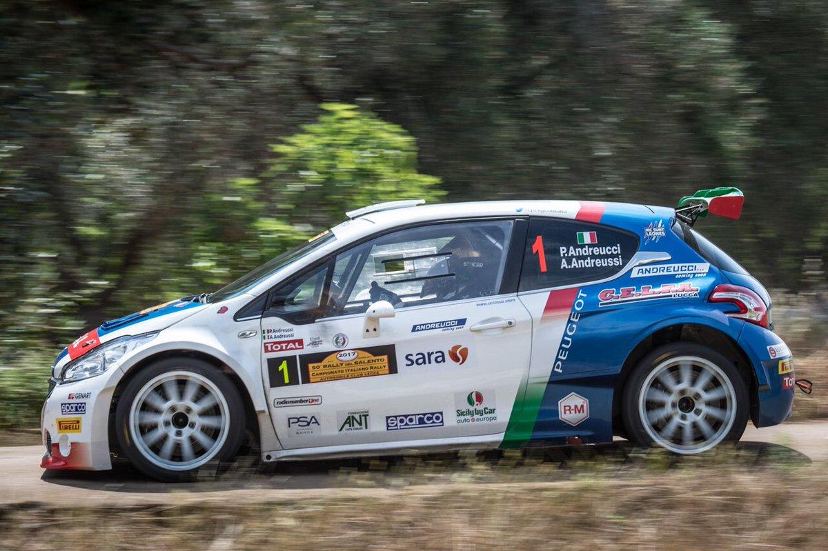 CIR Rally del Salento 2017, anteprima: Peugeot cerca l'allungo in classifica generale