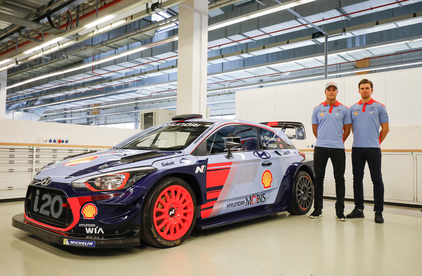 WRC - Mikkelsen e Hyundai assieme fino al 2019