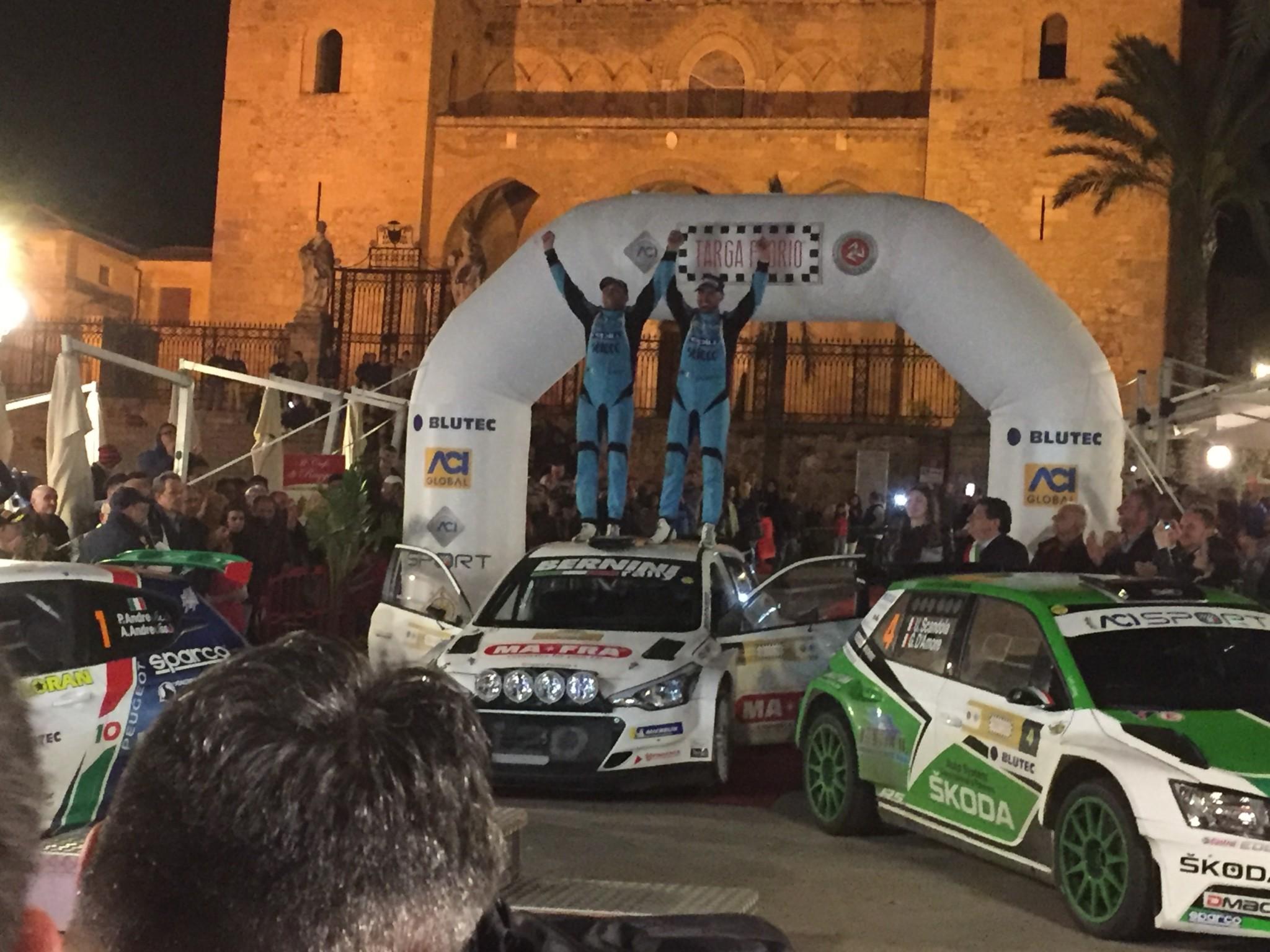 Targa Florio, Campedelli-Canton leader della 102^ edizione