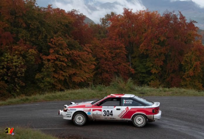 Patuzzo vincitore al Rally Due Valli storico 2020